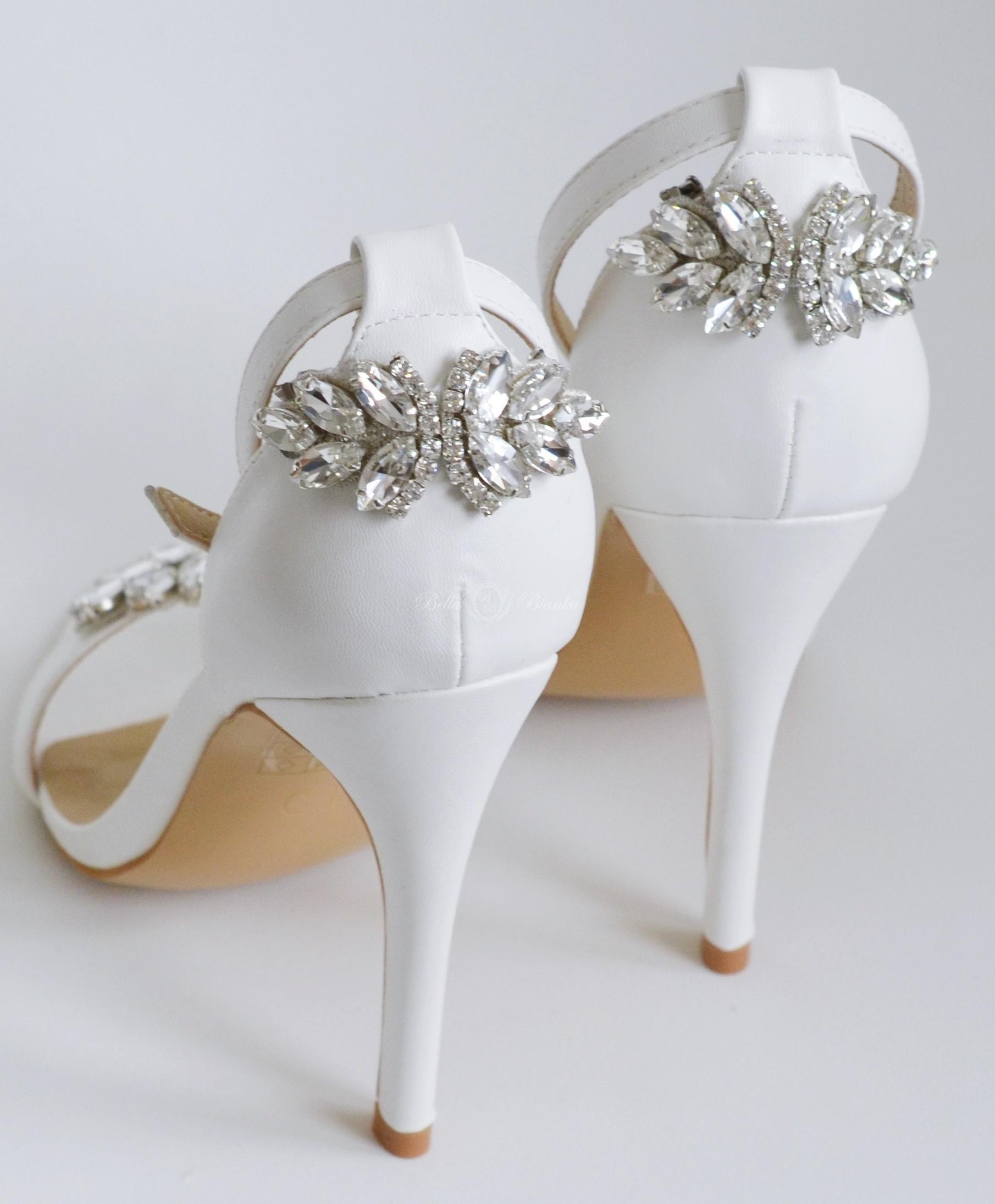 915b0c366 Klipsy do butów CLARA SILVER – BellaBianka